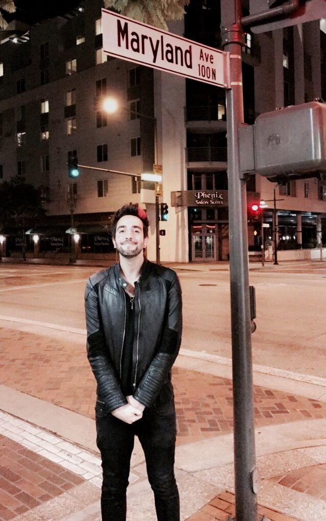 """[fc: jack barakat]: """"Hey! I'm Jack. I'm twenty-two years old. I play the guitar in a band , All Time Low. I have a little sister, Alissa. Don't. Hurt. Her. Anways, I like music, traveling and partying. I'm really outgoing, so come say introduce yourself!"""""""