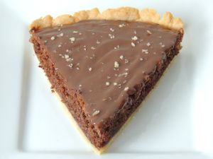 Čokoládovo-orechový koláč