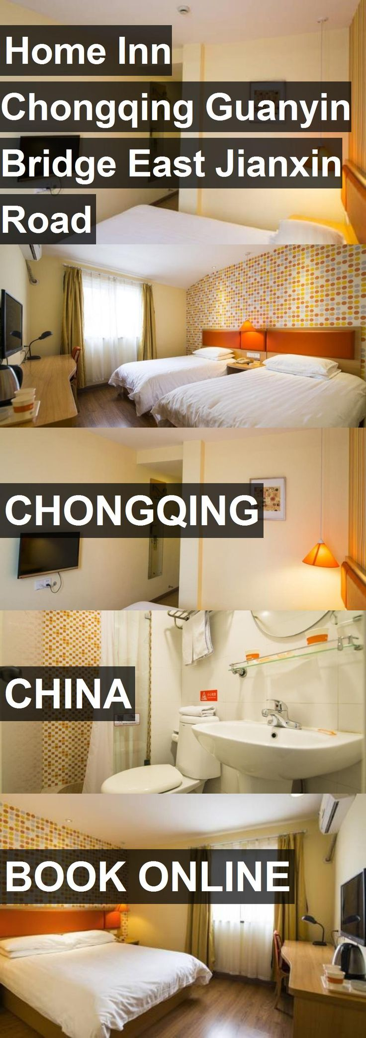 Hotel Home Inn Chongqing Guanyin Bridge East Jianxin Road in Chongqing, China. For more information, photos, reviews and best prices please follow the link. #China #Chongqing #travel #vacation #hotel