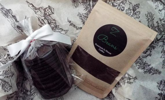 Coffee Gift Set, Dark Chocolate Cookies, Coffee, Coffee Gifts, Coffee Beans, Ground Coffee, Organic Coffee, Gifts for Him, Gifts for Her