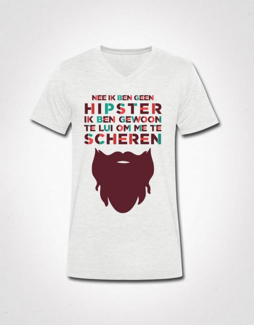 ik ben geen hipster t-shirt