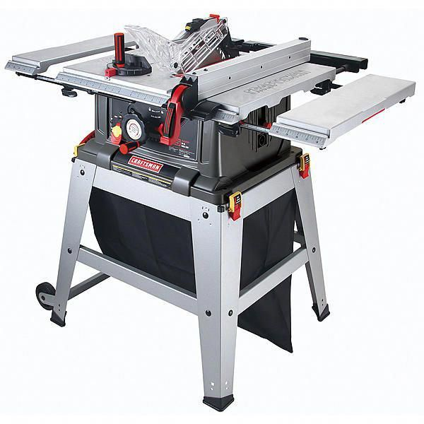 009021807000 Craftsman 10 Table Saw With Laser Trac Tablesaw Craftsman Table Saw Table Saw Jigs Table Saw Stand