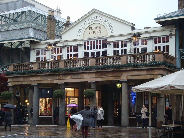 Winter at Covent Garden.