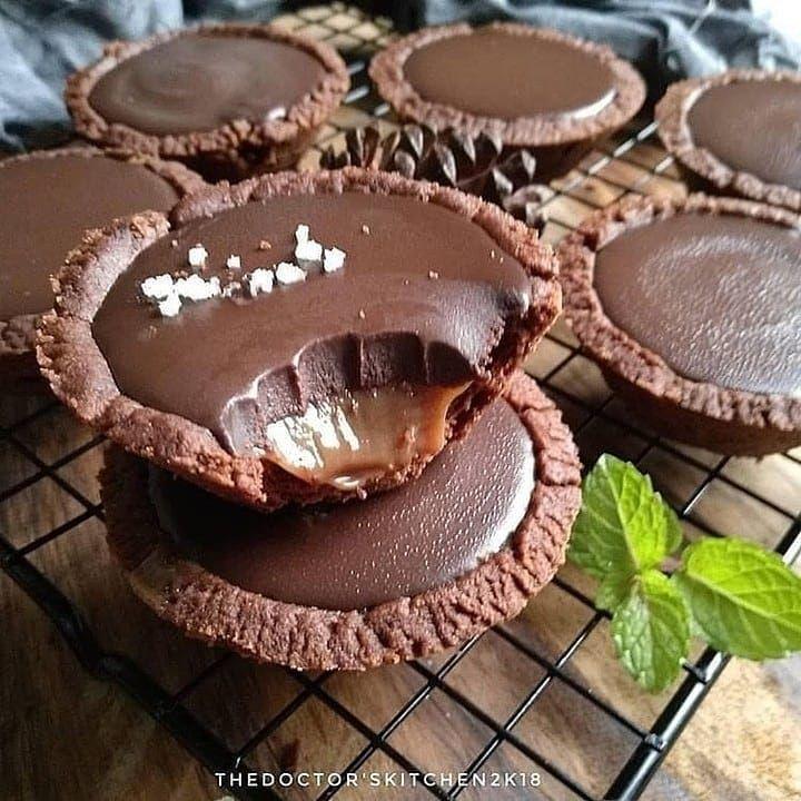 Simple Salted Caramel Pie By Natalieduyen Bahan 50 Gr Butter 100 Gr Brown Sugar Me Gula Palem 1 Kaleng Condensed Milk Skm Putih Resep Kue Kue Resep