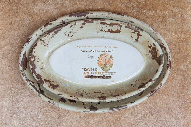 """Oval """"Dame Antoinette"""" Dish Set"""