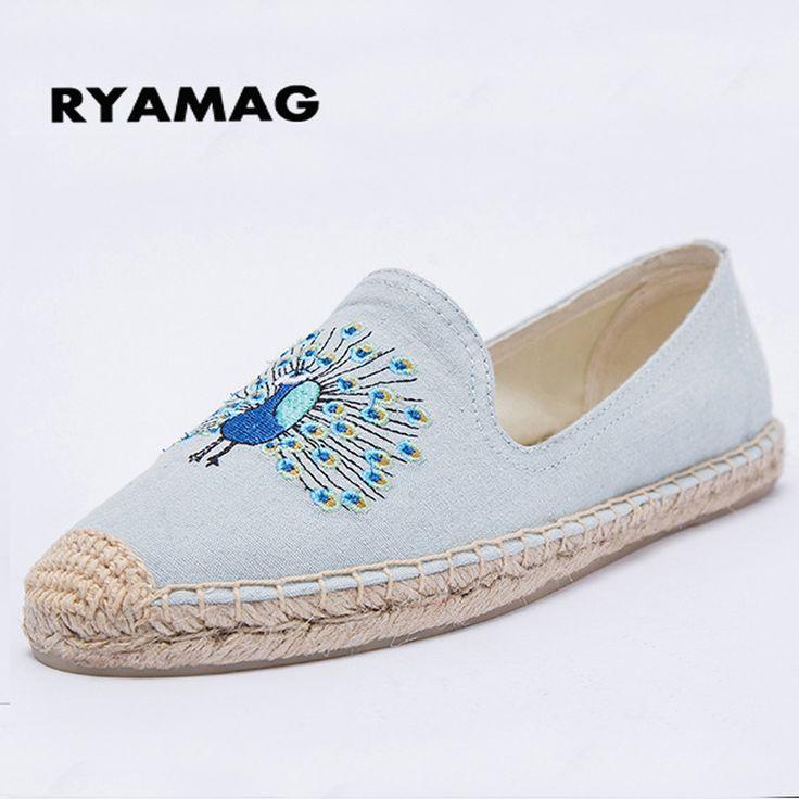 Mode coréenne de femmes Weaving Chaussures plates Mocassins c4PnoYuuRE