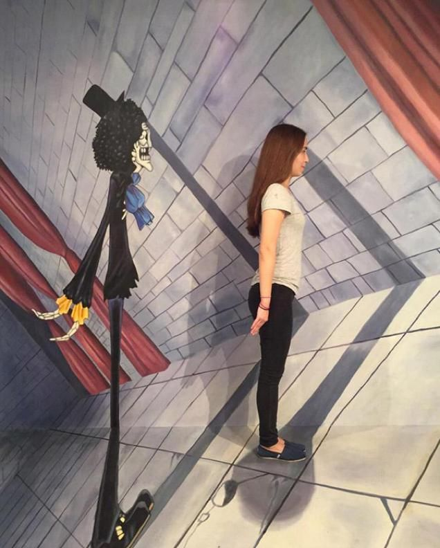 Best One Piece Trick Art Might Fool You Images On Pinterest - Amazing 3d art museum lets visitors become part art