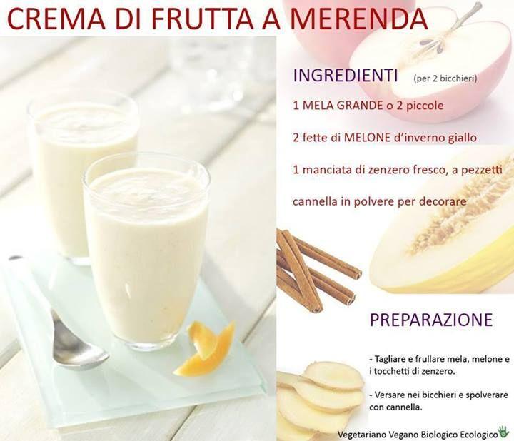 Crema di frutta a merenda
