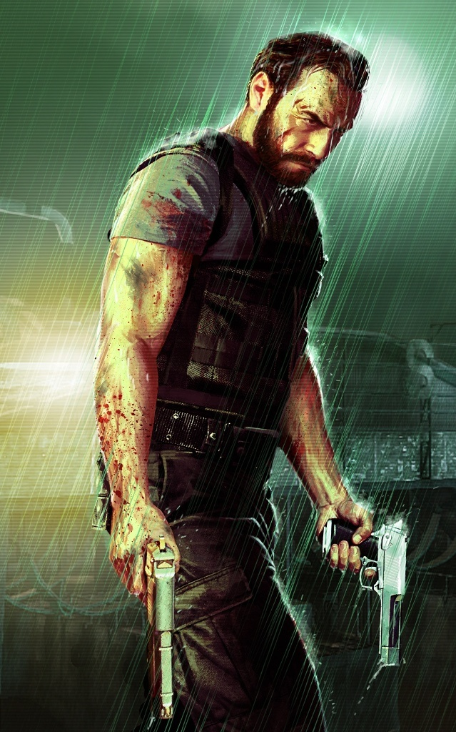 Max Payne suffers from alcoholism and an addiction to pain killers. Although our character isn't as strongly burdened by drug and alcohol use, Max Payne can also act as an influence in the sense that he is very violent, volatile and has had many problems in his past.