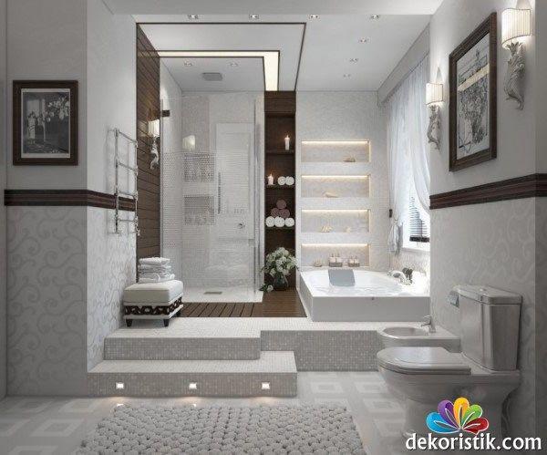 Banyo Led Zemin Aydınlatması