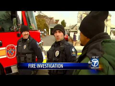 Man tells ABC 7 News crew I set it on fire