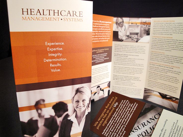 Healthcare Management Systems | Brochure | by designthis!