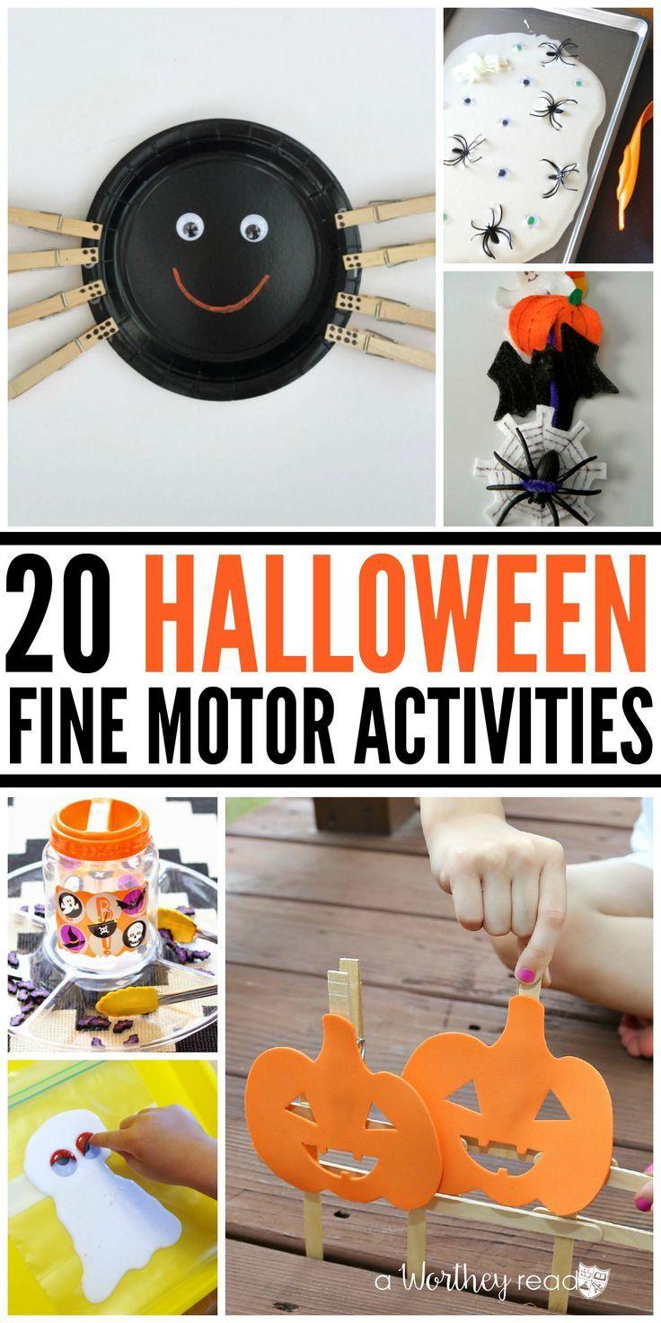 20 Halloween Fine Motor Activities Great Ideas For All