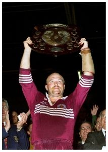 The Emperor of Lang Park, the great Wally Lewis