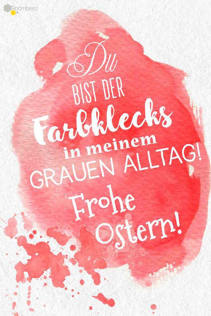 #Grußkarten #Sprüche #Ostern » Diese und weitere süße Osterkarten gibt es auf ROOMBEEZ! Schaut doch mal vorbei ♥