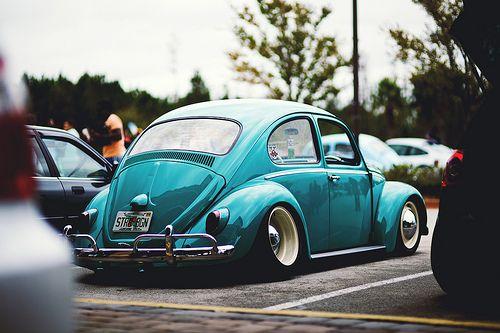Window Stickers For Cars >> Slammed Vw beetle   Old bugs   Pinterest   Vw beetles, VW Bugs and Beetle