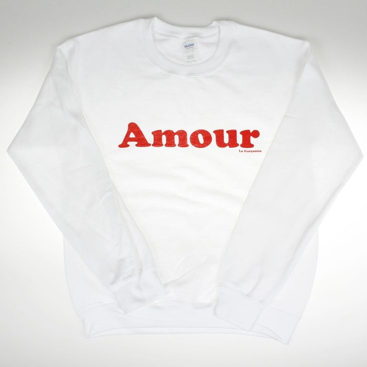 Amour Sweater White