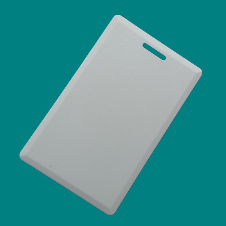 125khz RFID EM4305 Clamshell Card Rewritable T5577 ID Thick Card