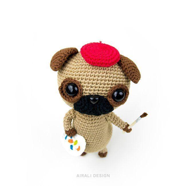 Little Schnauzer Crochet Dog [Free Pattern] | Uncinetto libero ... | 650x650