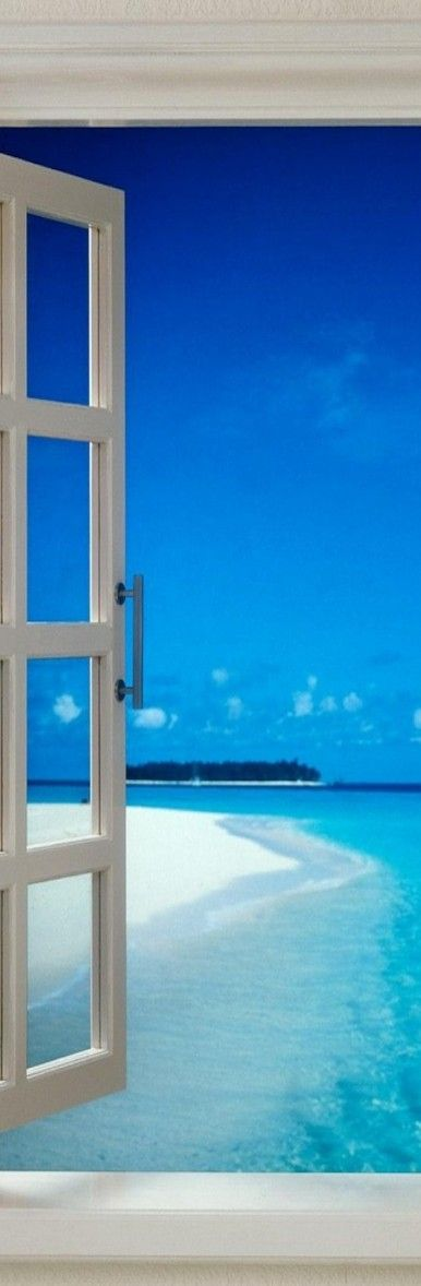 Dream vacations Maldives http://#Travel http://www.MyFunLifeBegi...Ok, I was looking for ideas on garden design viewed from a window, but this is so much COOLER!