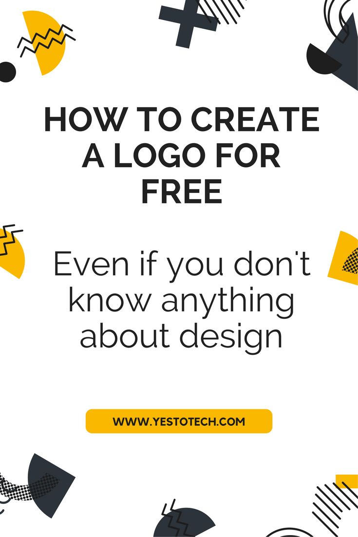 Hiring a professional designer to create a logo for you may be out of question when you are an entrepreneur or a small business owner who is just starting out. What if I told you that it is possible to create a logo yourself, for free, even if you don't know anything about design?