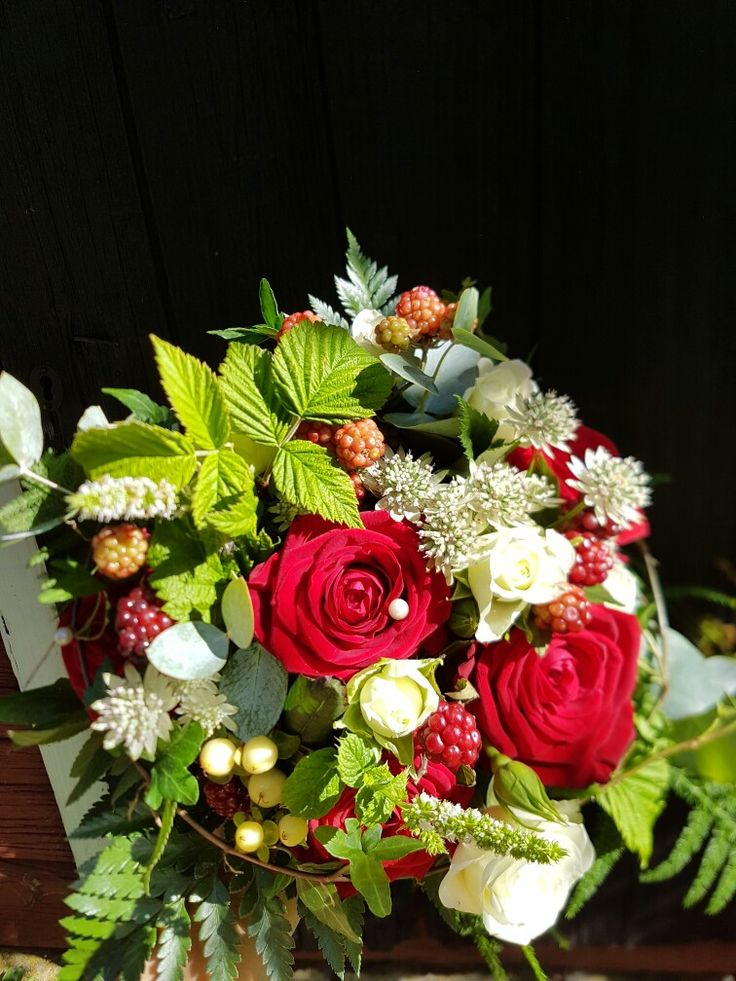Wedding bröllop brudbukett flowers