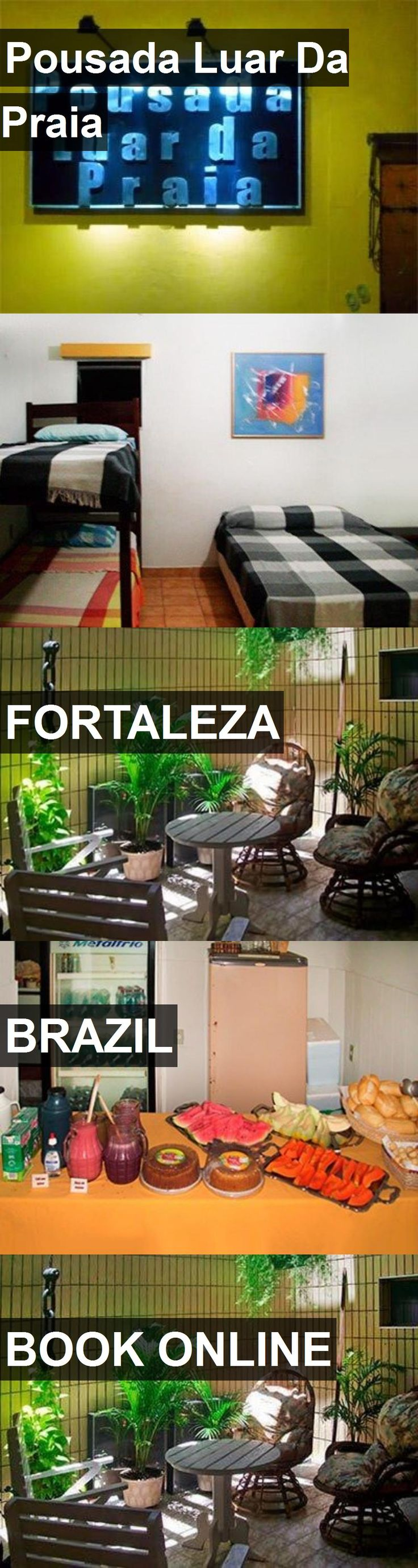 Hotel Pousada Luar Da Praia in Fortaleza, Brazil. For more information, photos, reviews and best prices please follow the link. #Brazil #Fortaleza #PousadaLuarDaPraia #hotel #travel #vacation