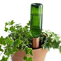 RECYCLE A BOTTLE PLANT NANNY STAKE- SET OF 4|UncommonGoods