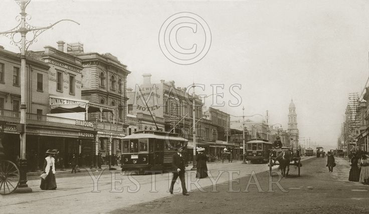 King William Street Adelaide 05P