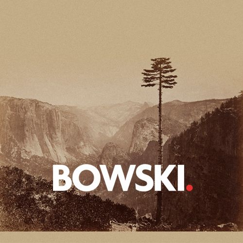 Logo for Oslo DJ Bowski.  Bowski.https://soundcloud.com/kamilbowski/kosekroken-vol-1