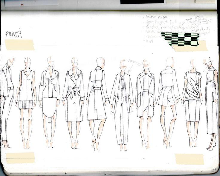 Fashion Design Ideas For Portfolios