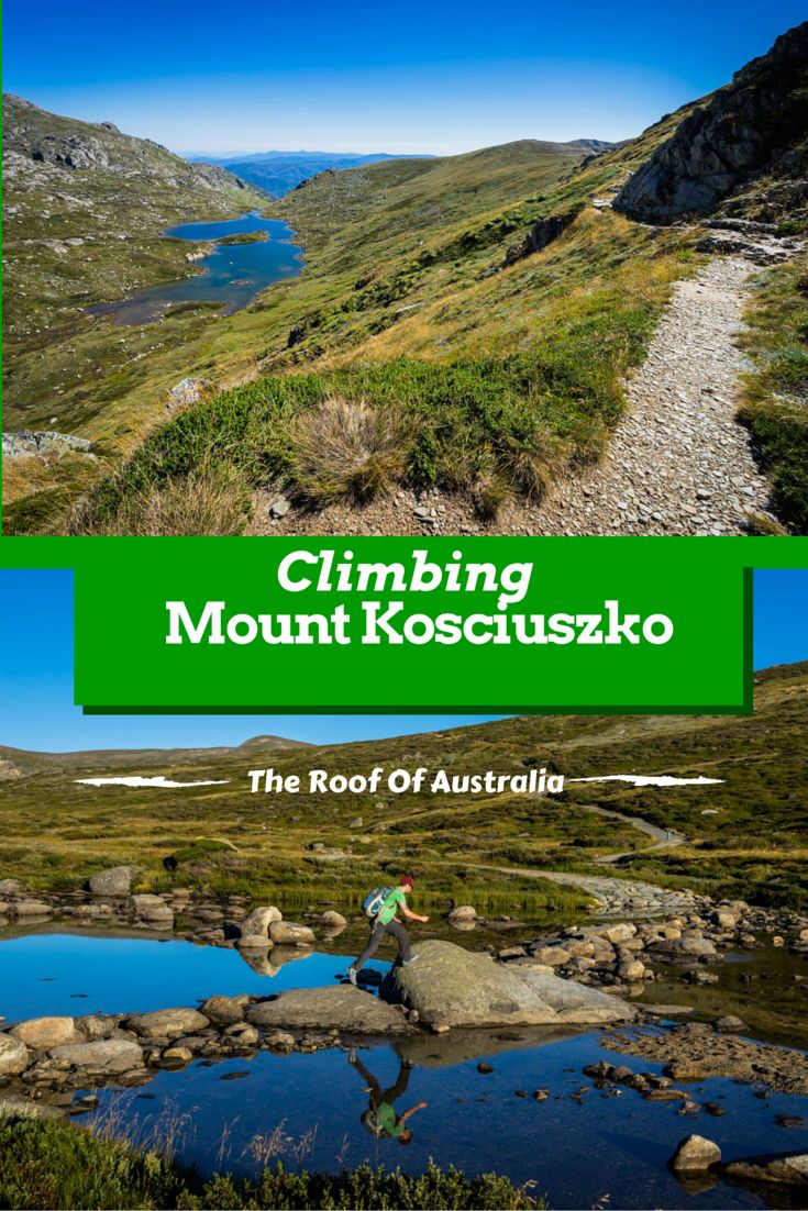 Climbing to Australia's highest mountain. Ok it's nothing like other countries mountains but it was a beautiful hike. If you want some outdoor activities, put this on your list of things to do in Australia. We loved hiking in Australia. #hiking #australia