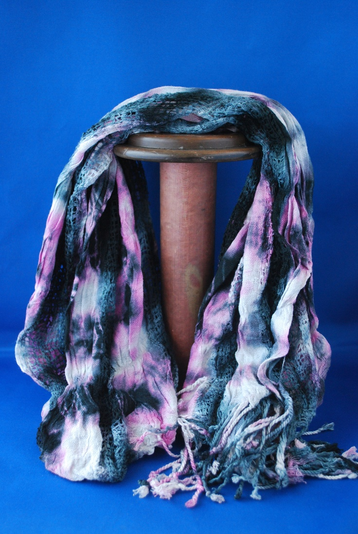 Go a little wild with this Guatemalan scarf