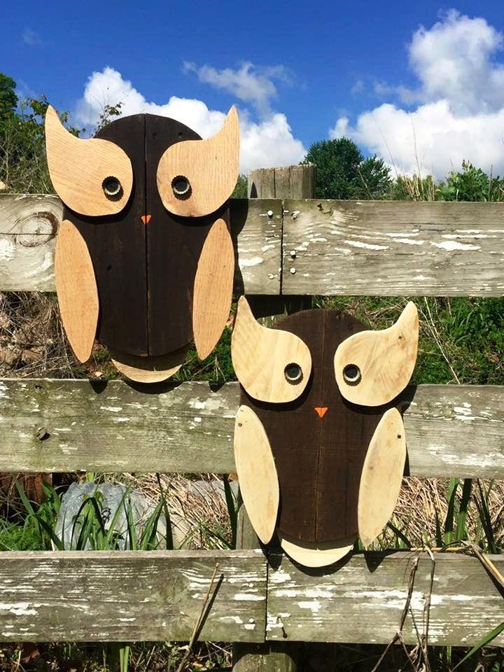 Pallet Owls Art - DIY