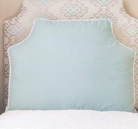 Headboard Pillow - Spa Blue - available spring 2016