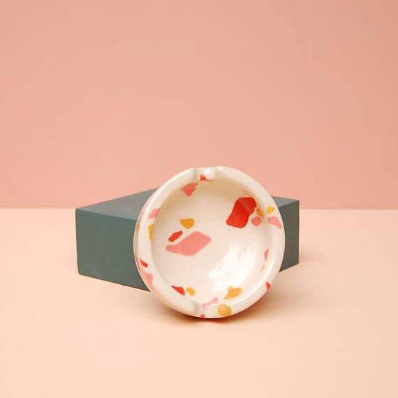 Modern Ceramic Ashtray | Nightshift Ceramics
