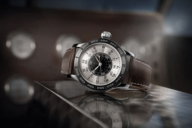 View the new The Lindbergh Hour Angle Watch 90th Anniversary Collection by Longines® #ableitner #longines #fliegeruhren