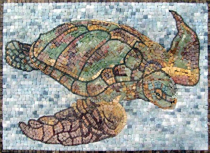 Completely new 193 best Sea turtle mosaics images on Pinterest | Mosaic art  UJ59