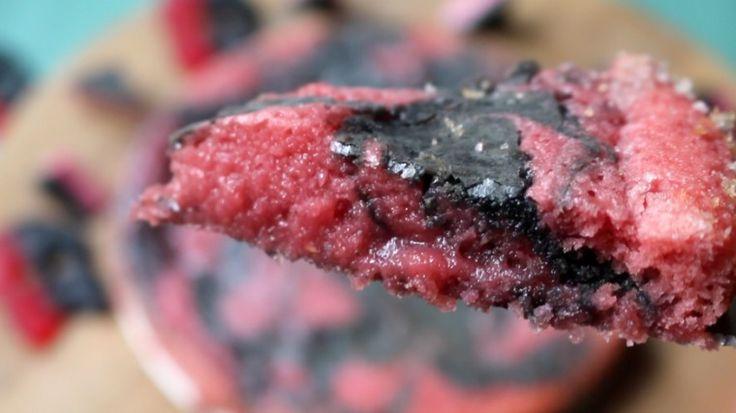 Sött och salt i en härlig hallonlakritskladdkaka