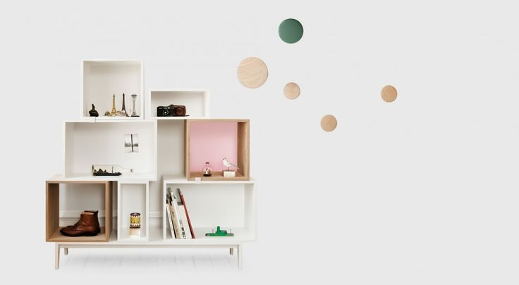 Design Collection 06: Stacks of Storage - Living Edge