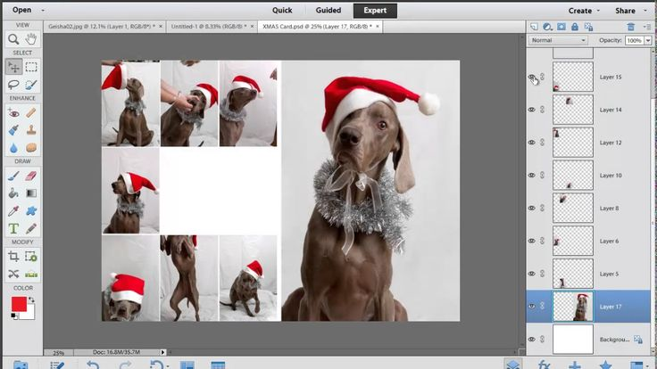 Photoshop Elements: Text Layers and Blend Modes