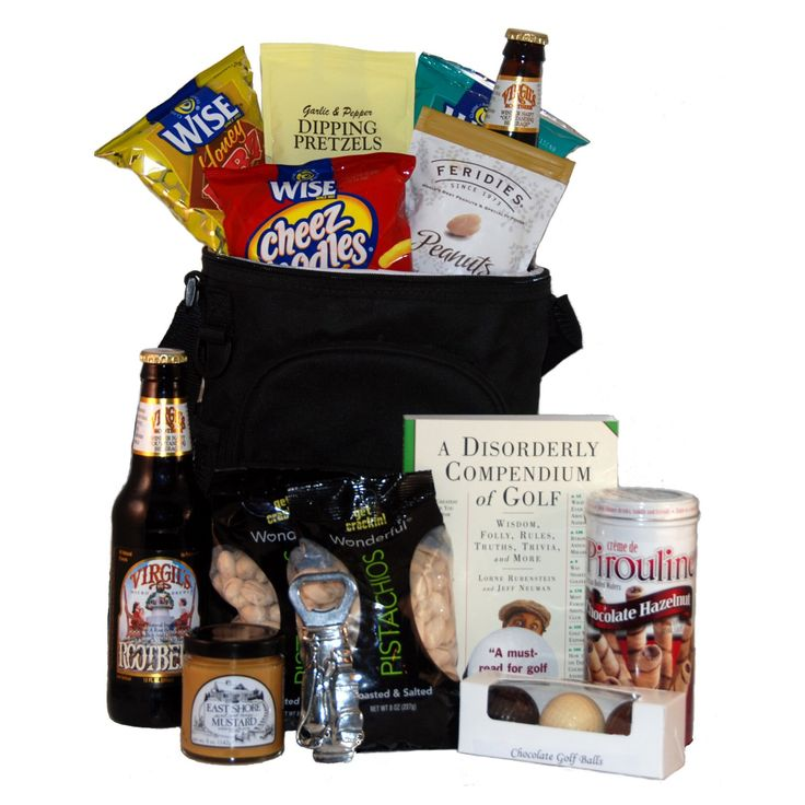 Caddy Pack Golf Gift Basket - CDPACK-SMALL