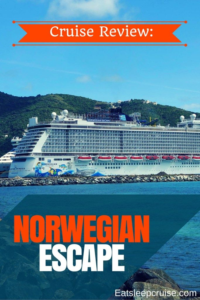 Norwegian Escape Cruise Review. Day by day review of this brand new ship complete with freestyle dailies and plenty of photos!