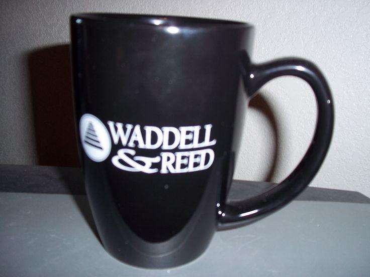 Waddell & Reed Black Coffee Mug Cup Liquid Logic
