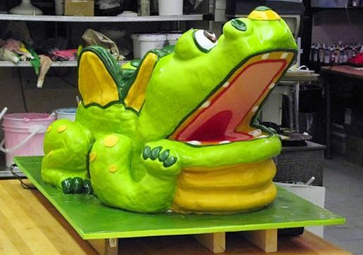 Alphie The Dragon Cake