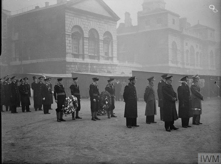 FUNERAL OF THE FIRST SEA LORD SIR DUDLEY POUND. 26 OCTOBER 1943, HORSE GUARDS PARADE AND WHITEHALL.