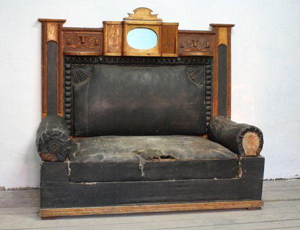 Кабинетный сталинский диван