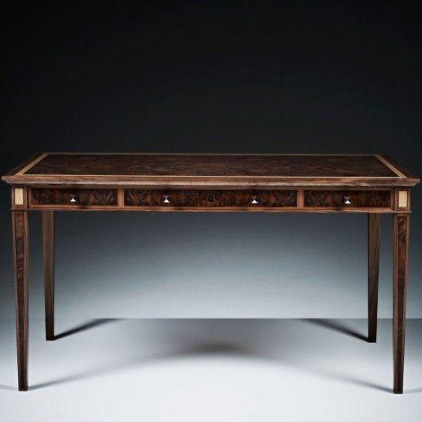 LINLEY Classic Writing Desk   Study   Furniture   Luxury Gifts & Homeware, Furniture, Interior Design, Bespoke