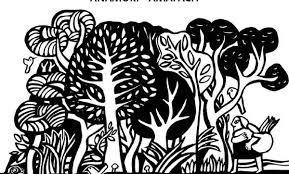 pintura de hombre mapuche y el bosque - Buscar con Google