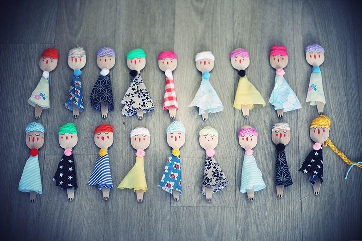 DIY, les petites marionnettes de voyage